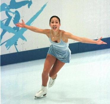 Michelle Kwan, who overall won nine national and five world crowns, was a center-stage fixture for 14 years.